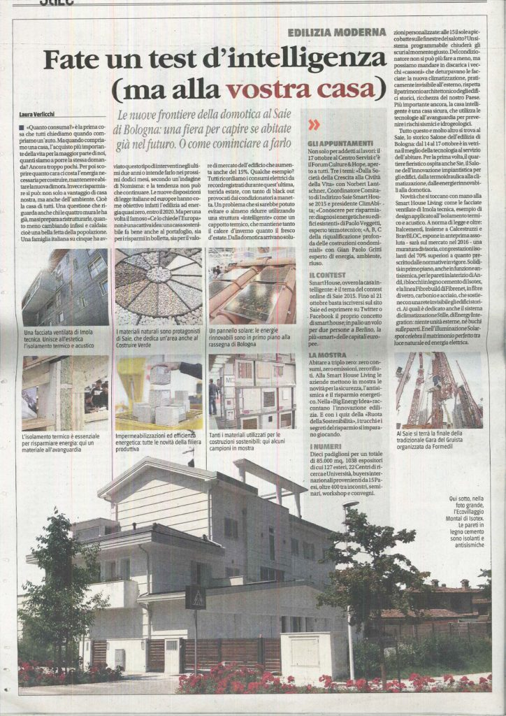 il Giornale -saie 2015 -10.10