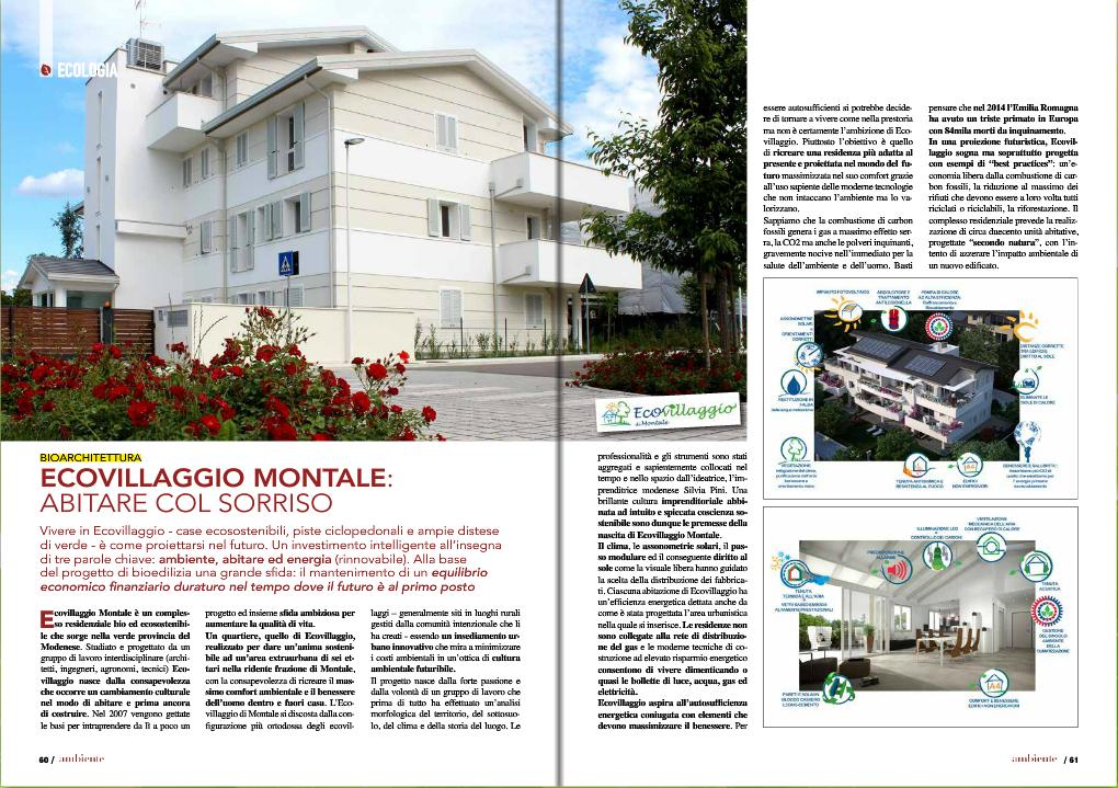 Articolo Ecovillaggio_Trimetsrale Ambiente