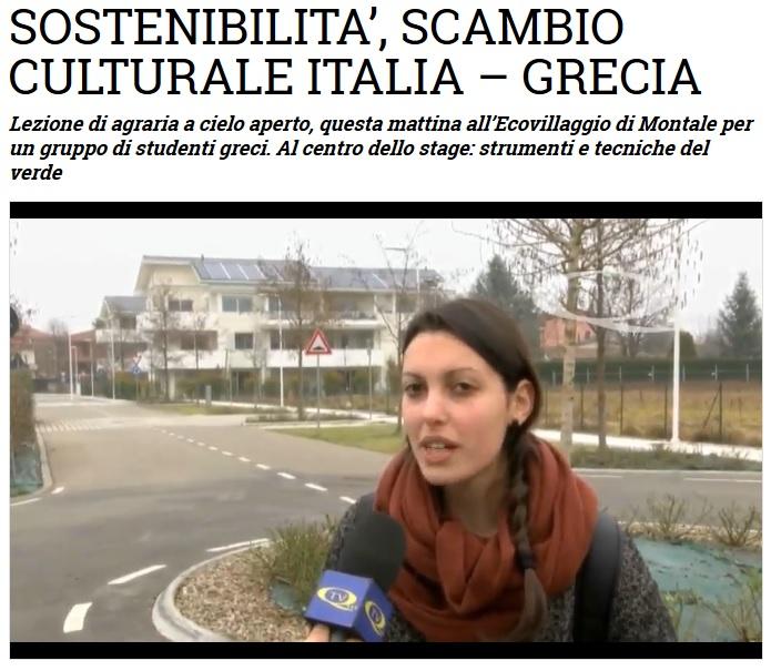 TV Qui Modena - Ecovillaggio