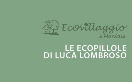 LE ECOPILLOLE DI LUCA LOMBROSO