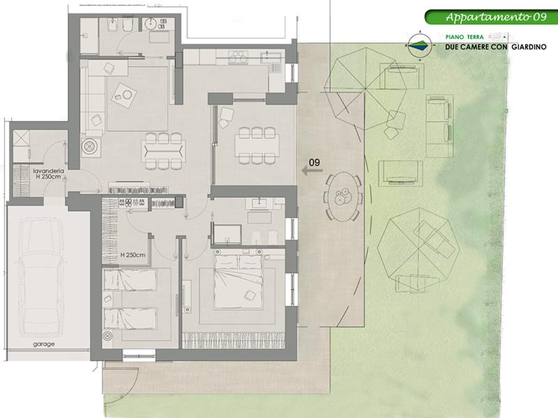 Appartamento Indipendente 9, Lotto 10 <strong>NOVITA&#8217;</strong>