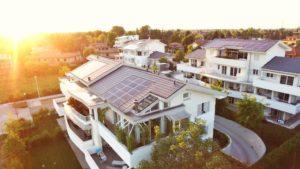 case ecologiche - veduta dall'alto