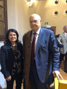 Silvia Pini Ecovillaggio Montale insieme a Stefano Zamagni