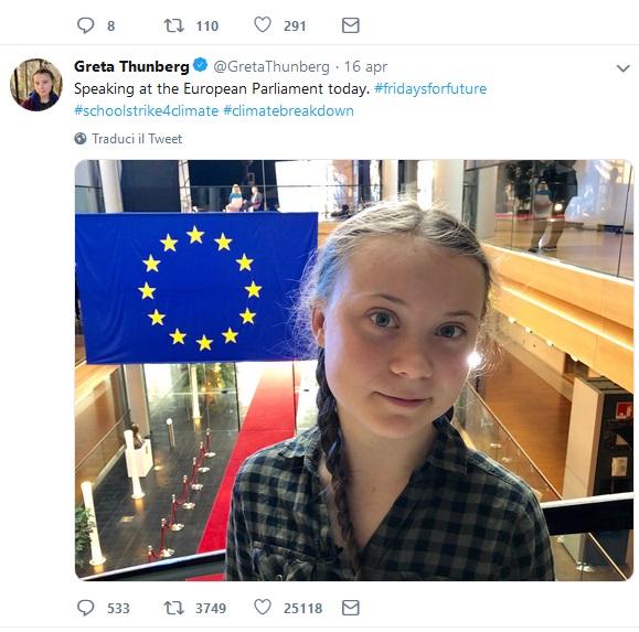 Greta twitter