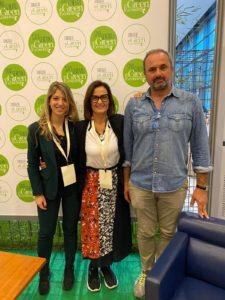 lo Staff di Ecovillaggio Montale, Silvia e Carlo Pini, Deborah Annolino