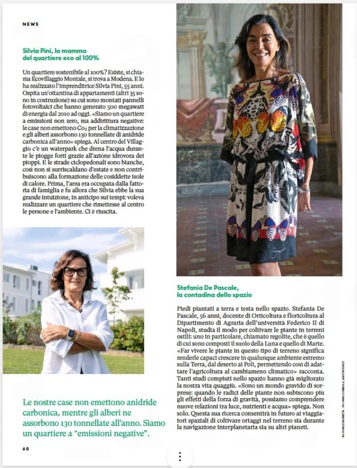 Donna Moderna Speciale Green - Intervista Silvia Pini