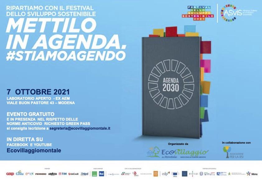 Scarica il programma del festival dello sviluppo sostenibile 2021